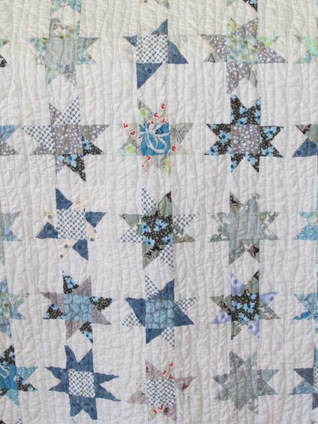 Sam Taber's baby quilt (front)