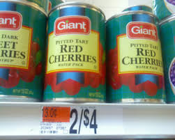 cherries in can