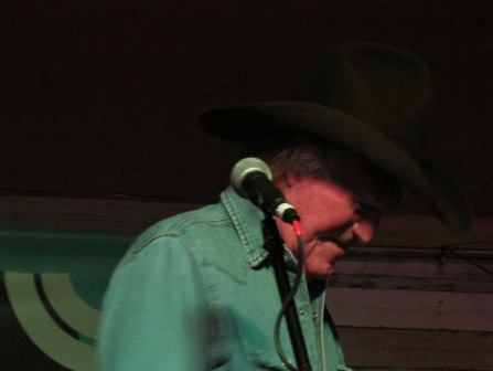 Billy Joe Shaver, at Shotguns, Austin, TX.  March 12, 2014