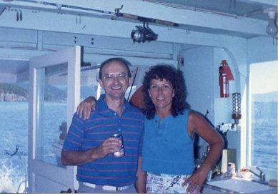 1988 Ellen Glen on houseboat001