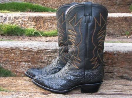 These are caiman boots.