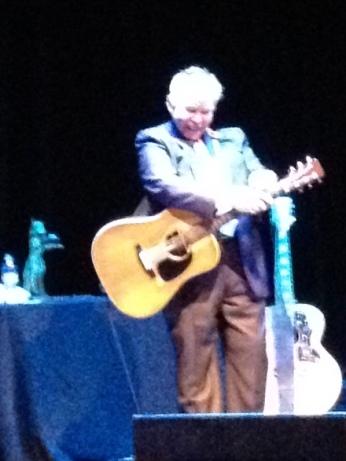 John Prine at Bass Hall.  Photo by DMP.