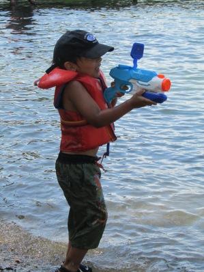 Water blasters!