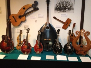 More mandolins.