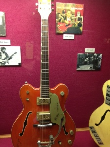 Muddy Waters' guitar.