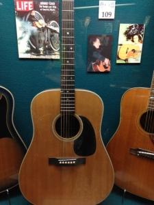 Johnny Cash's guitar.