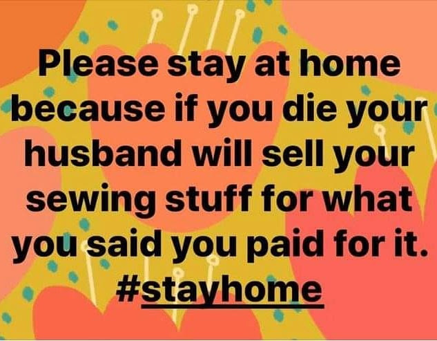 fabric stay at home
